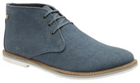 Frank Wright Truro Mens Boots Blue
