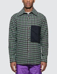 Acne Studios Relaxed Overshirt Multicolor