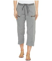 Xcvi Marco Crop Pants Mysterious Mauve Pigment Women's Casual Pants Gray