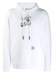 Mcq By Alexander Mcqueen Sheep Print Hoodie White
