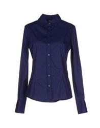 Amy Gee Shirts Blue