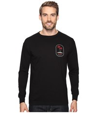 O'neill Motu Long Sleeve Screen Tee Imprint Black Men's T Shirt