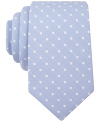 Bar Iii Carnaby Collection Coburg Dot Skinny Tie Blue