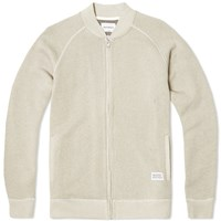 Norse Projects Ryan Sport Loomed Flame Jacket Grey