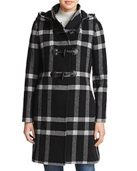 Cinzia Rocca Plaid Toggle Coat