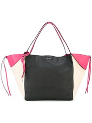 Etro Colour Block Tote Black