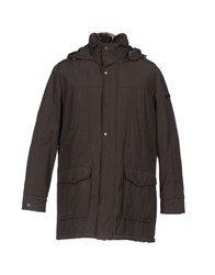 Enrico Coveri Coats And Jackets Jackets Men Dark Brown