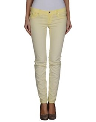 Gas Jeans Gas Denim Pants Light Yellow