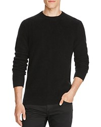 Vince Boiled Cashmere Sweater Black