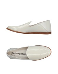 Pedro Garcia Loafers Ivory