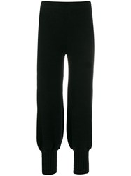 Genny Regular Balloon Pants Black