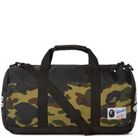 A Bathing Ape 1St Camo Sports Bag Black