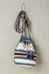 Anthropologie Almadine Bucket Bag White
