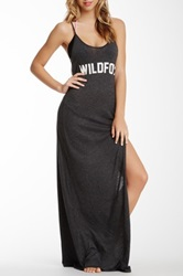 Wildfox Couture Couture Classic Fox Jet Set Maxi Dress Black