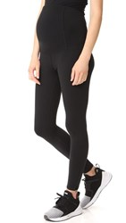 Ingrid And Isabel Active Maternity Leggings Black