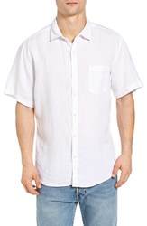 Original Paperbacks Men's Rome Trim Fit Sport Shirt White