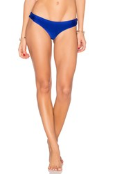 Luli Fama Buns Out Bikini Bottom Electric Blue
