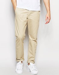 Jack And Jones Jack And Jones Straight Fit Chinos Sand