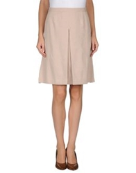 Kristina Ti Knee Length Skirts Light Pink
