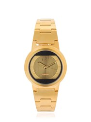 Fob Paris Limited Edition Red Solar Gold Watch