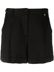 Twin Set Pleated Tailored Shorts Black
