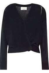 3.1 Phillip Lim Convertible Knitted Cardigan Blue