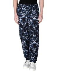 Marcelo Burlon Casual Pants Dark Blue