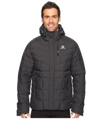 Salomon Icetown Jacket Black Men's Coat