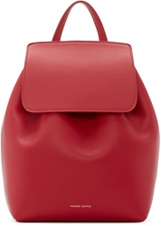 Mansur Gavriel Red Mini Backpack