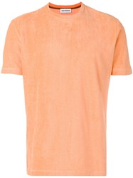 Umit Benan Towelling T Shirt Yellow Orange