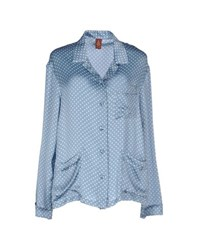 Dondup Shirts Shirts Women Sky Blue
