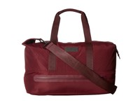 Adidas By Stella Mccartney Medium Gym Bag Cherry Wood White Gunmetal Duffel Bags Brown