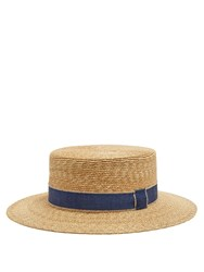 Filu Hats Cordoba Wheat Straw Hat Blue