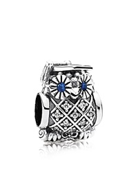 Pandora Design Pandora Charm Sterling Silver Cubic Zirconia And Crystal Graduate Owl Moments Collection
