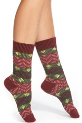 Women's Kensie Geo Pattern Boot Sock