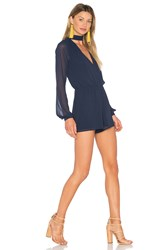 Lovers Friends X Revolve Taylor Romper Blue