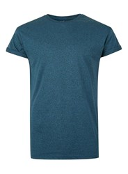 Topman Green Teal And Black Muscle Fit T Shirt
