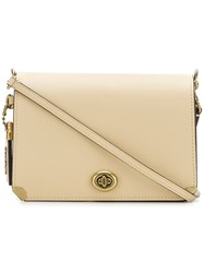 Coach Woman Dinky 19 Bag Nude And Neutrals