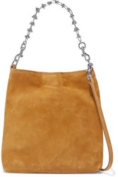 Little Liffner Candy Suede Tote Yellow