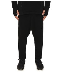 Yohji Yamamoto Double Jersey Pants Black Men's Casual Pants