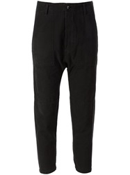 Citizens Of Humanity 'Sadie' Military Trousers Black