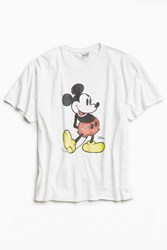 Junk Food Mickey Washed Tee White
