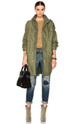 Nlst Oversized Desert Jacket In Green