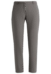 More And More Trousers Black Multicoloured