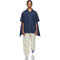 Vetements Navy Levi's Edition Oversized Denim Shirt