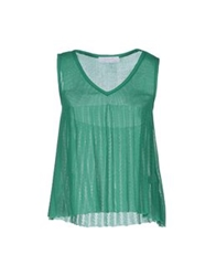 Kristina Ti Sleeveless Sweaters Green