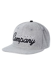 Neff The Company Cap Grey Heather Mottled Grey