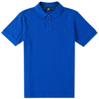 Paul Smith Regular Fit Ps Logo Polo Blue