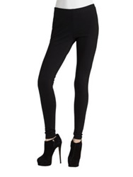 Lafayette 148 New York Punto Milano Leggings Black