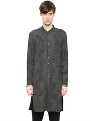 Damir Doma Extra Long Wool And Silk Shirt